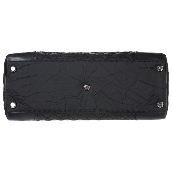 Chanel Black Quilted Paris XL Travel Bag. Perfect Travel Bag! Coco et Louis