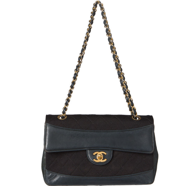 Chanel Black Quilted Matorasse Flap Chain Bag. Luxury! Coco et Louis