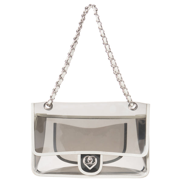 Chanel Naked Transparent Flap Bag. Collector's Item! Coco et Louis