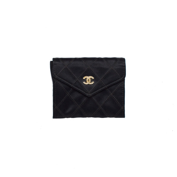 Chanel Black Petite Flap Coin Case Purse. Darling! Coco et Louis