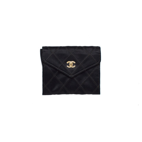 SOLD - Gucci Canvas/Leather Small Pouch.  Darling!