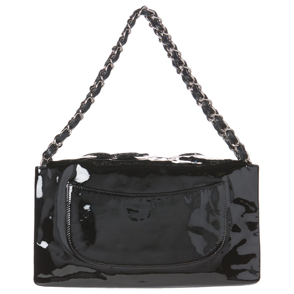 Chanel Black Camellia Flap Collector's Edition Bag.  Breathtaking! - Coco et Louis - 2