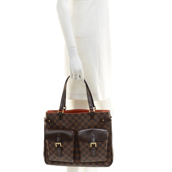 Sold -Louis Vuitton Damier Ebene Uzes Bag. Exquisite! Coco et Louis
