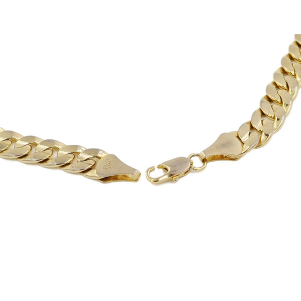 18K Thick Yellow Gold Necklace.  Weight 68.1 Grams of Pure Gold. - Coco et Louis - 2