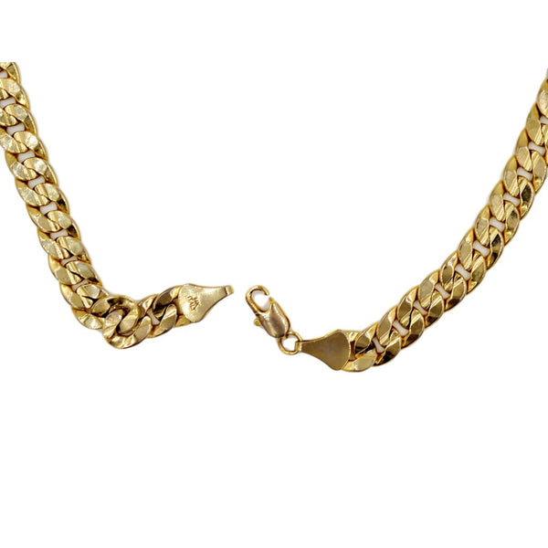 18K Thick Yellow Gold Necklace.  Weight 68.1 Grams of Pure Gold. - Coco et Louis - 4