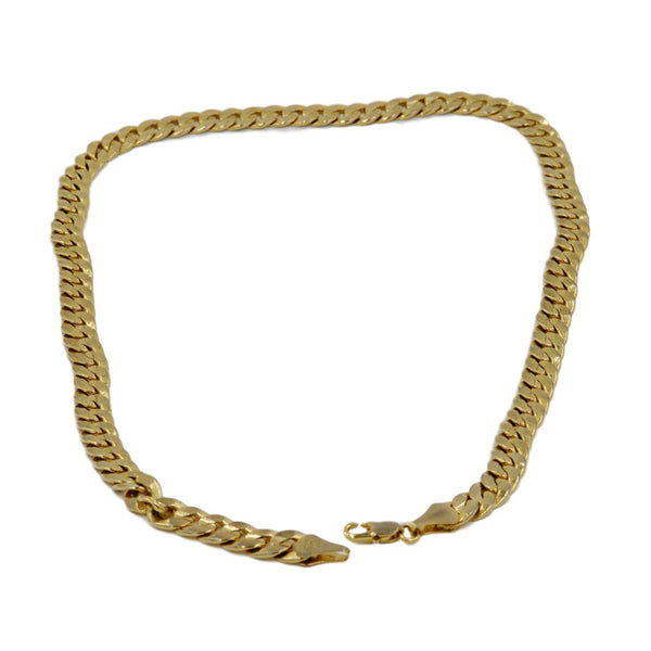 18K Thick Yellow Gold Necklace.  Weight 68.1 Grams of Pure Gold. - Coco et Louis - 3