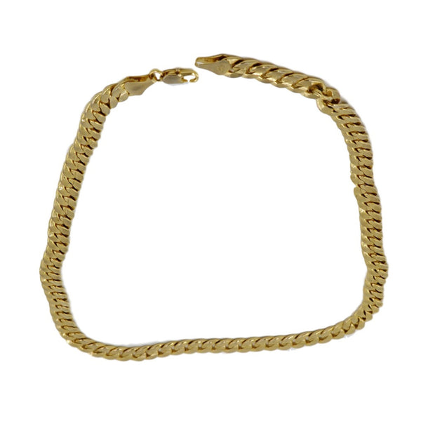 18K Thick Yellow Gold Necklace.  Weight 68.1 Grams of Pure Gold. - Coco et Louis - 1