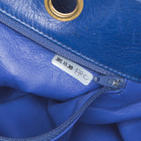 Chanel Blue Quilted Color Block Vintage (c. 1984-1986) Shoulder Bag. Exquisite! Coco et Louis