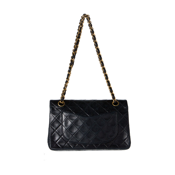 Chanel Black Classic Medium 2.55 Double Flap Bag. Iconic!  ON HOLD for LORNA - - Coco et Louis - 2