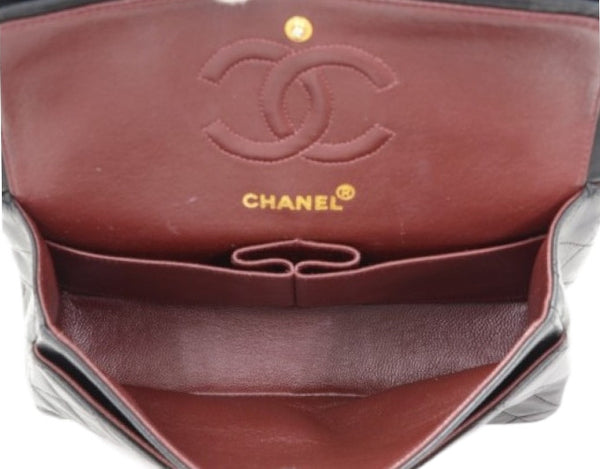 Chanel Black Classic Medium 2.55 Double Flap Bag. Iconic!  ON HOLD for LORNA - - Coco et Louis - 9