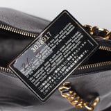Chanel Black Caviar Jumbo Shoulder Bag. Spectacular! Coco et Louis