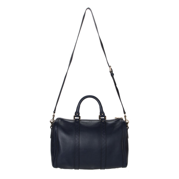 Gucci Navy Blue Boston Bag.  Pure Class! - Coco et Louis - 2