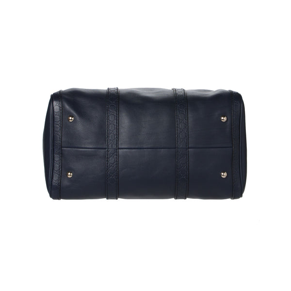 Gucci Navy Blue Boston Bag.  Pure Class! - Coco et Louis - 4