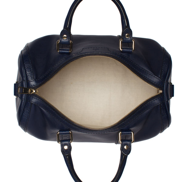 Gucci Navy Blue Boston Bag.  Pure Class! - Coco et Louis - 5