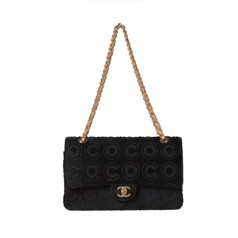 Chanel Bluish Grey Caviar Medallion Tote.  Chic!