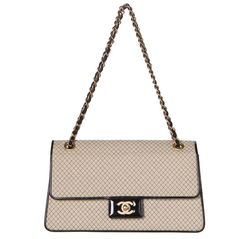 Dior Black Mini Cannage Lady Dior 2-Way Bag.  Timeless!