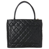 Chanel Black Caviar Medallion Tote w/ Gold Hardware. Exquisite! Coco et Louis