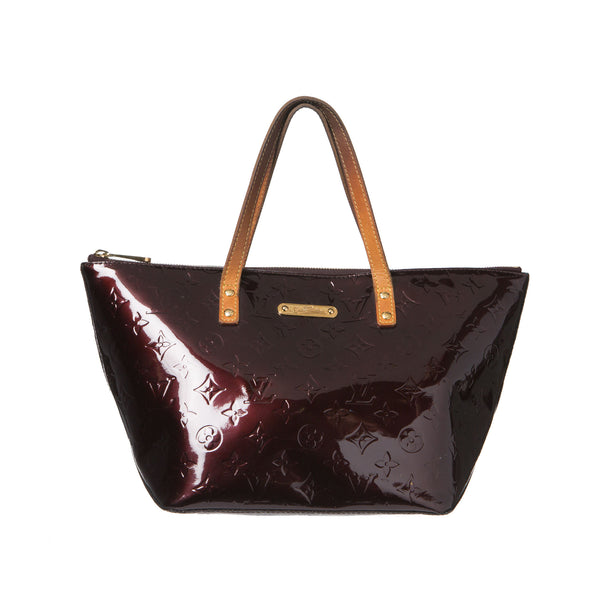 Louis Vuitton Amarente Vernis Bellevue GM Bag. Darling! Coco et Louis