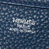 Hermes Blue Evelyn III PM Messenger Bag.  Gorgeous! - Coco et Louis - 7
