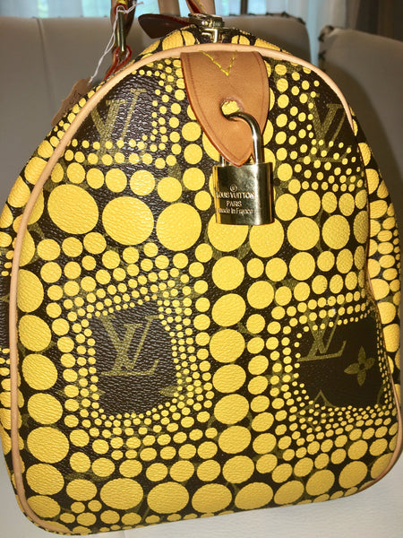 SOLD - Louis Vuitton Limited Edition Runway Speedy 30. Chic and Stylish!
