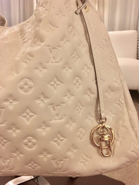 SOLD - Louis Vuitton Creme Empreinte Artsy.  ON HOLD FOR MARGARET  Stunning!