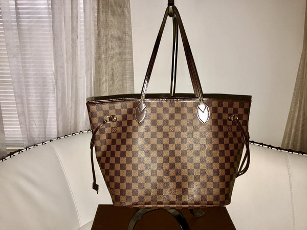 SOLD - Louis Vuitton Damier Neverfull MM.  Gorgeous!  ON HOLD FOR ASHLEY