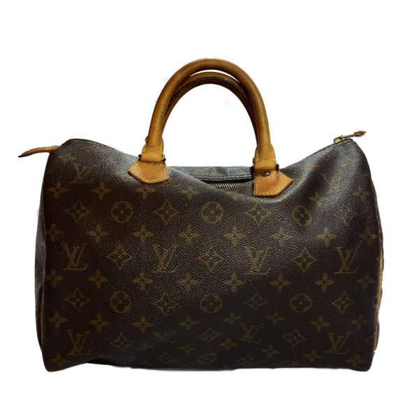 SOLD - Louis Vuitton Monogram Speedy 30.  Vintage!
