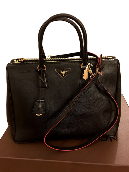 77d9f3c01e Prada Saffiano Lux Executive Tote Bag. Pure Class! – Coco et Louis