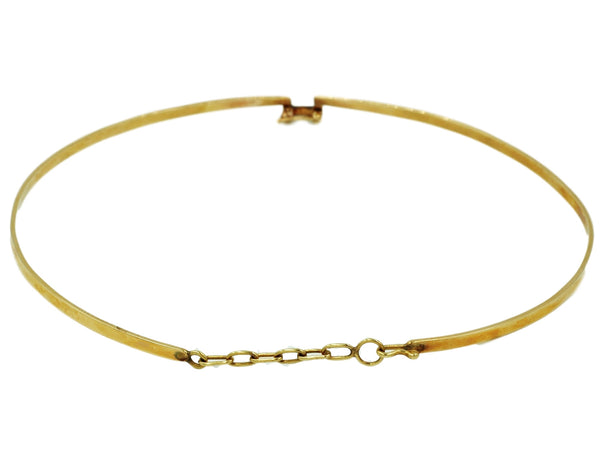 14K Gold Choker Necklace - Coco et Louis - 2