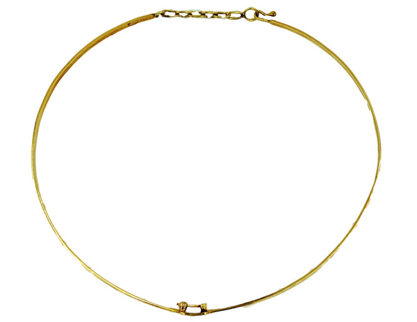 14K Gold Choker Necklace - Coco et Louis - 3