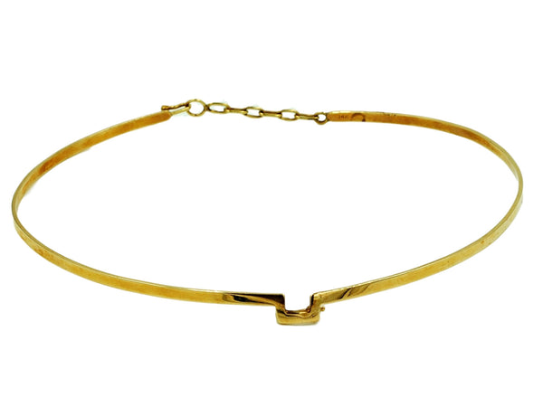 14K Gold Choker Necklace - Coco et Louis - 1