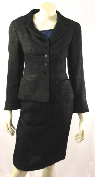 Chanel Two Piece Suit Size 4 (EU 36). Stylish! - Coco et Louis - 2