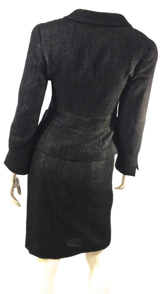 Chanel Two Piece Suit Size 4 (EU 36). Stylish! - Coco et Louis - 3
