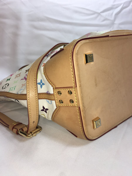 SOLD - Louis Vuitton Multicolore Sharleen GM Bag.  Gorgeous!