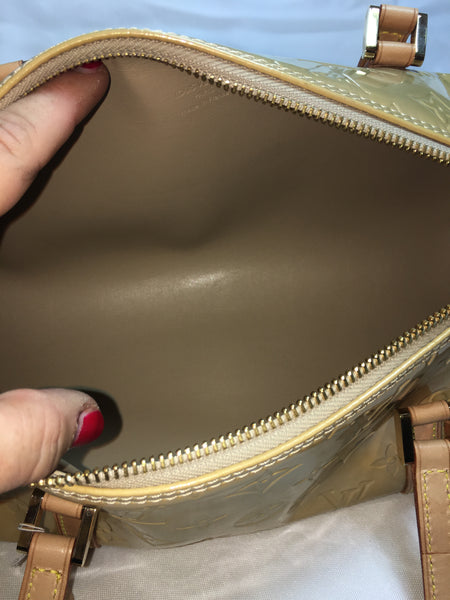 Louis Vuitton Beige Bedford Barrel Bag.  Darling!
