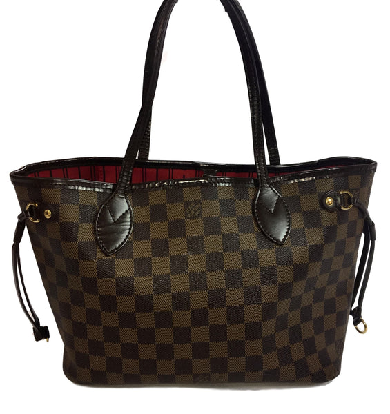 SOLD - Louis Vuitton Damier Neverfull PM.  Gorgeous!