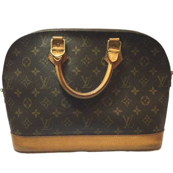 Louis Vuitton Alma Classic Monogram Bag! Size MM Coco et Louis