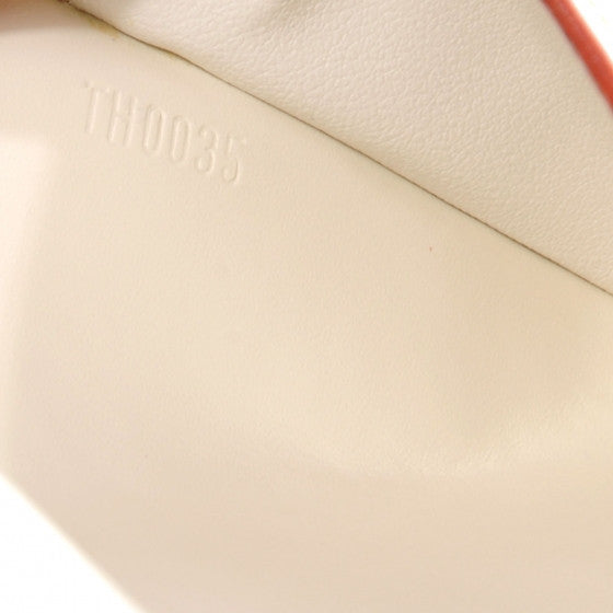 Louis Vuitton White Suhali Wallet/Clutch. Breathtaking! Coco et Louis