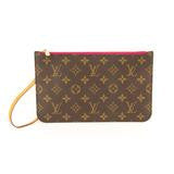 Louis Vuitton Monogram Pouchette Wristlet.  Pretty in Pink!