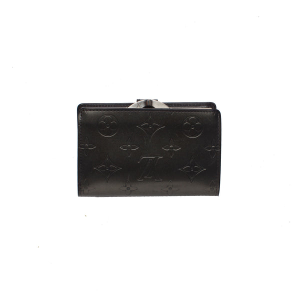 Louis Vuitton Steel Grey Embossed Vernis Leather Wallet. Lovely! - Coco et Louis - 2