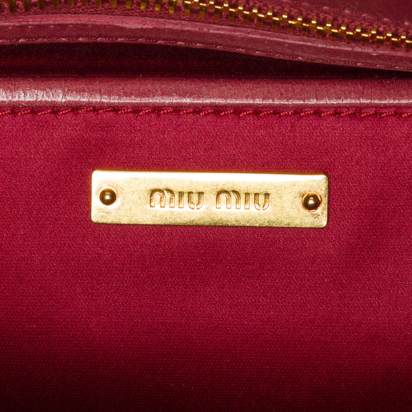 Miu Miu Mauve Large Two-way Bag. Gorgeous! Coco et Louis