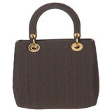 Dior Brown Lady Dior Medium Bag w/ Gold Hardware. Lovely! Coco et Louis