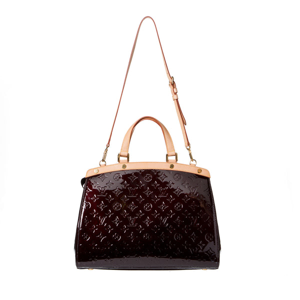Sold -Louis Vuitton Amarante Brea GM Handbag. Gorgeous! Coco et Louis