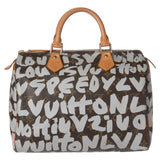 Sold -Louis Vuitton Rare Graffiti Brown Speedy 30. Collector's Item! Coco et Louis