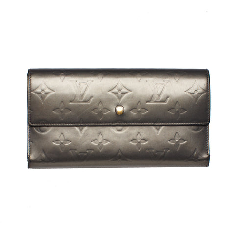 Sold -Chanel Metallic Wallet. Chic!