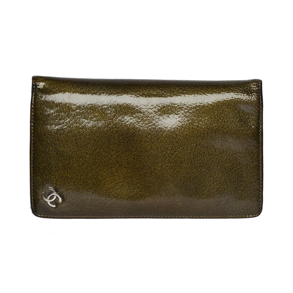 Chanel Metallic Wallet. Chic! - Coco et Louis - 1