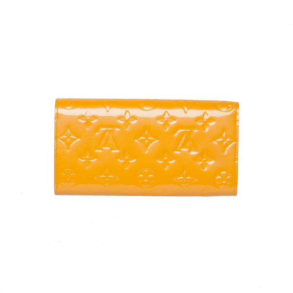 Louis Vuitton Yellow Sarah Wallet/Clutch. Beautiful! Coco et Louis