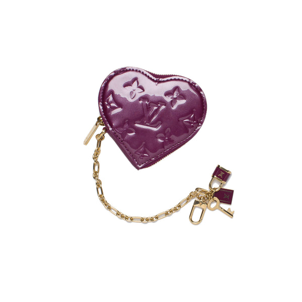 Louis Vuitton Heart Purse/Key Chain. Darling! Coco et Louis