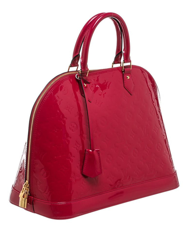 307dafe74537 SOLD - Louis Vuitton Alma Vernis GM. Stunning! – Coco et Louis