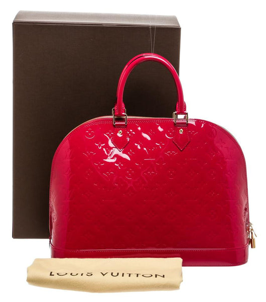 SOLD - Louis Vuitton Alma Vernis GM.  Stunning!